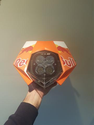 Image of KTM 950 SE / SM - Headlight Erzburger - Fully Assembled