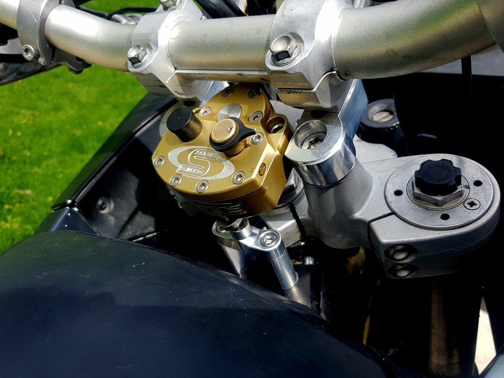 Image of KTM 950/990 ADV and SE - Steering Damper