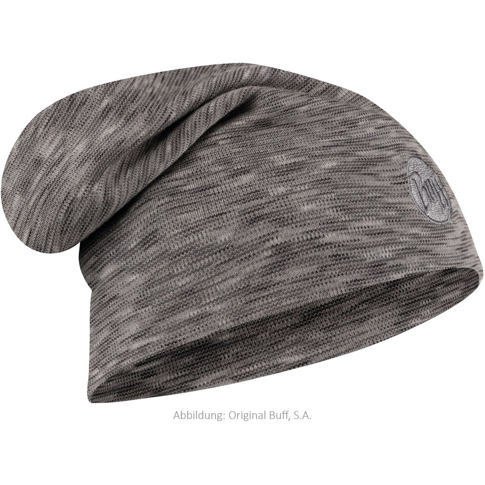 Image of Buff Merino Hue Loose - Grey Multi Stripes