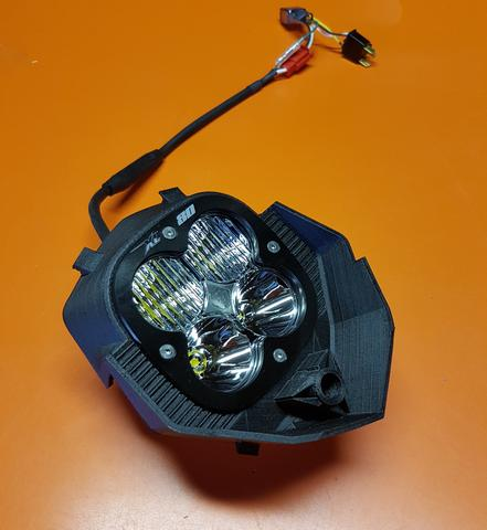 Image of KTM 950 SE / SM - Headlight Erzburger - Do-it-yourself Kit