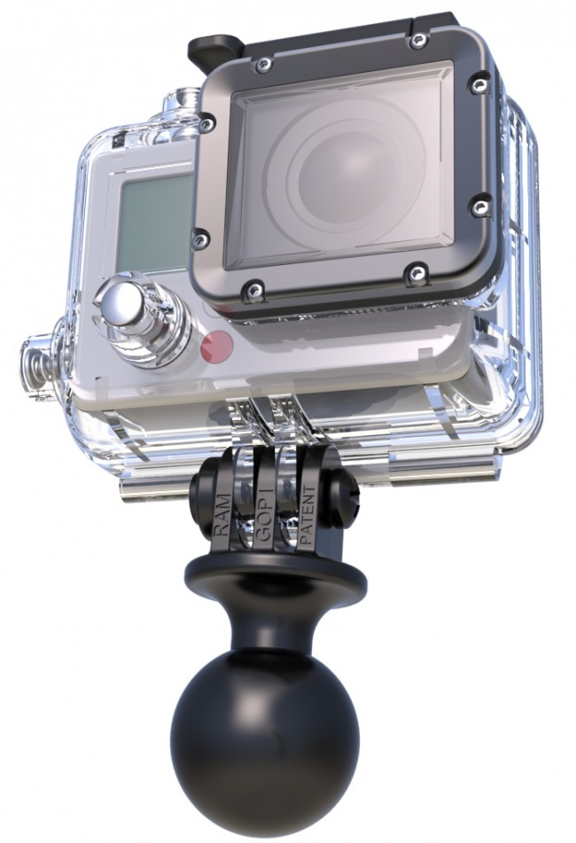 Image of   RAM Adapter til GoPro mv. med kugle