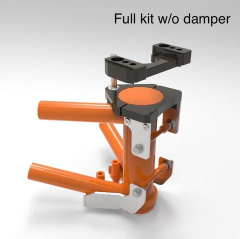 Image of KTM 1050/1090/1190/1290 - Headstraight and Steering Damper Kit