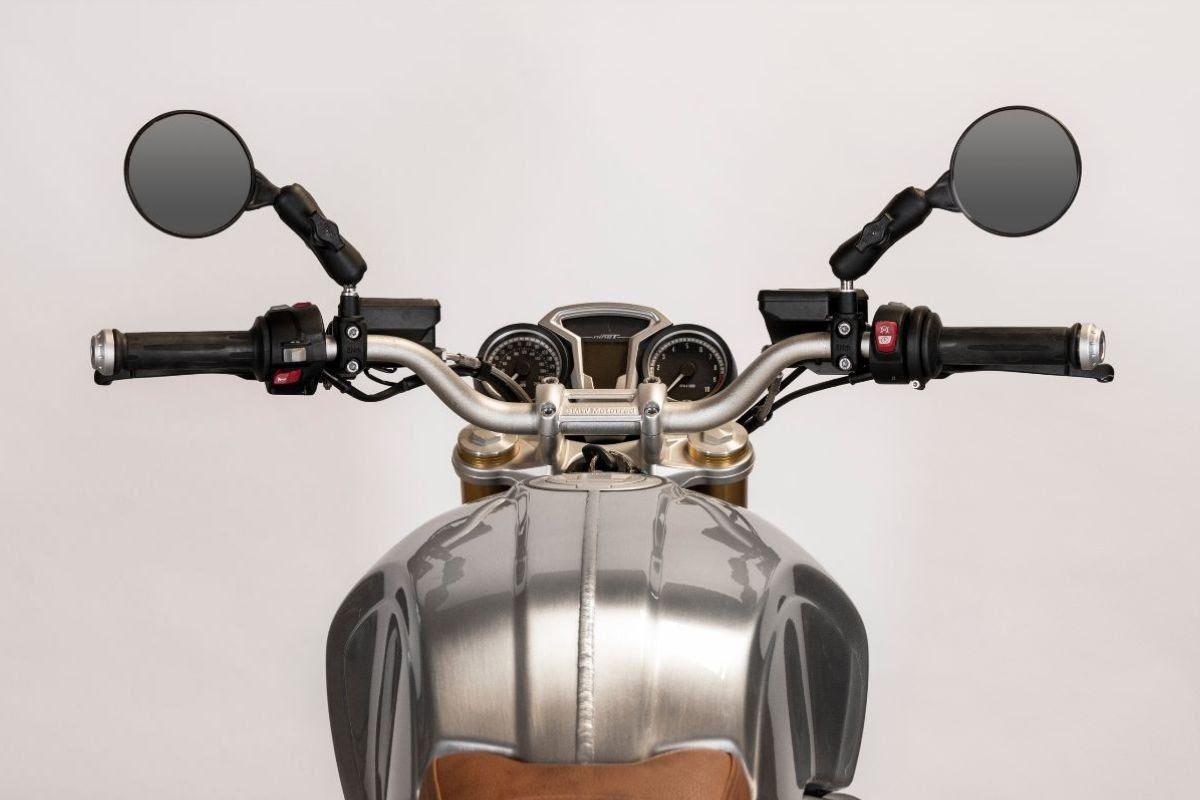 Image of   Doubletake Scrambler Mirror sæt (2 stk.) - Yamaha modeller